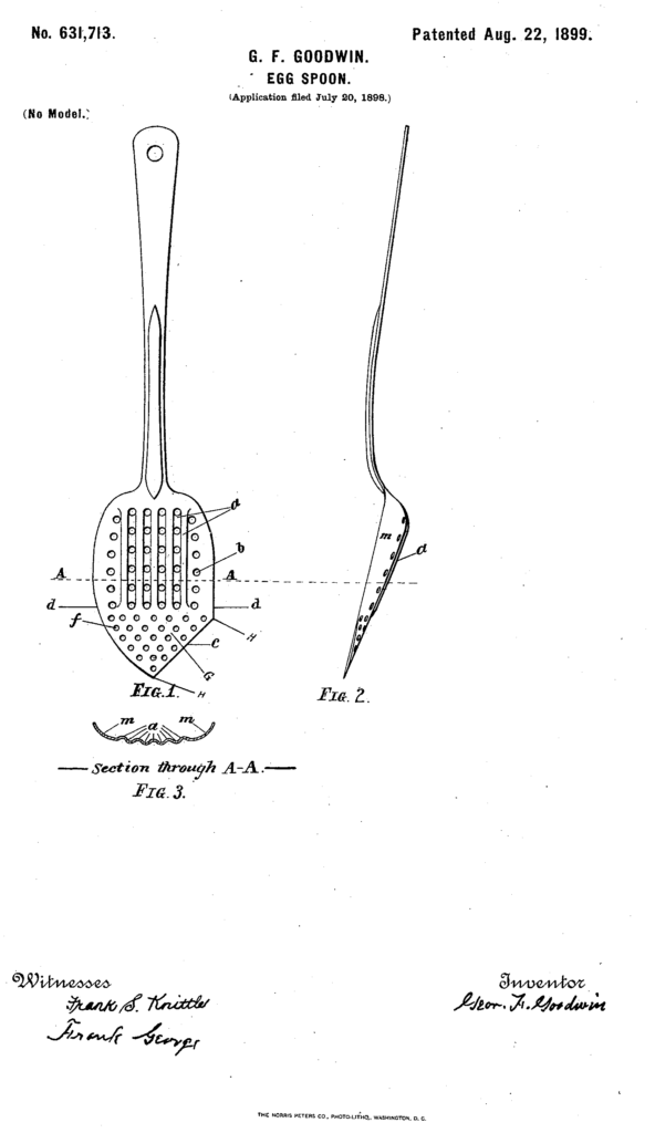 1899 - Egg Spoon